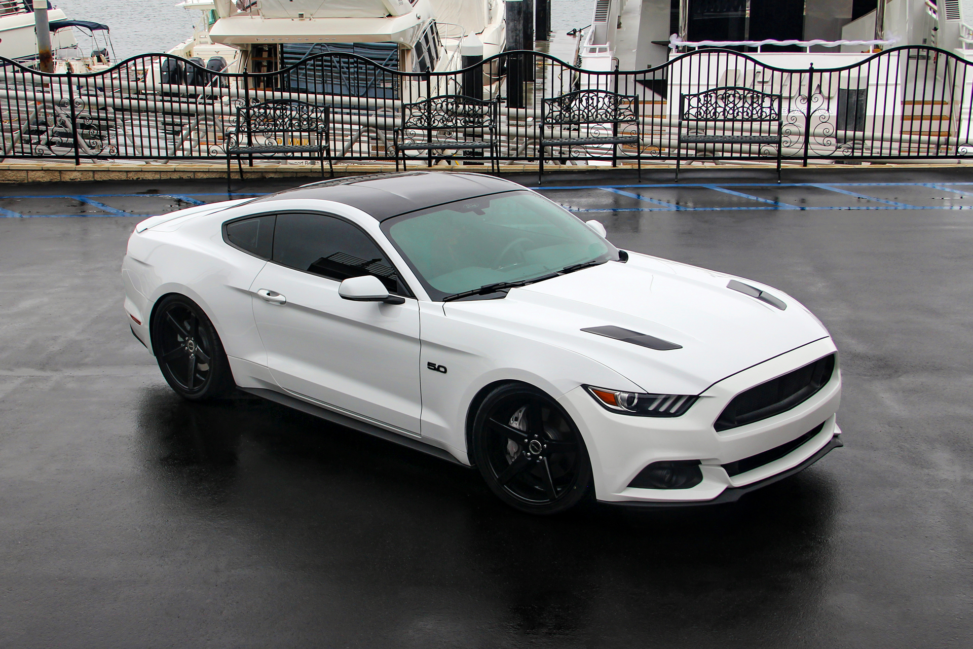 Ford Mustang on Strada Perfetto Wheels