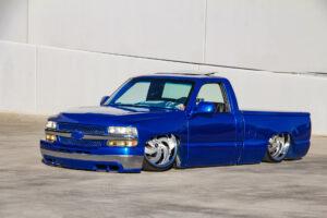 Strada Street Classics Retro6 Blue Silverado