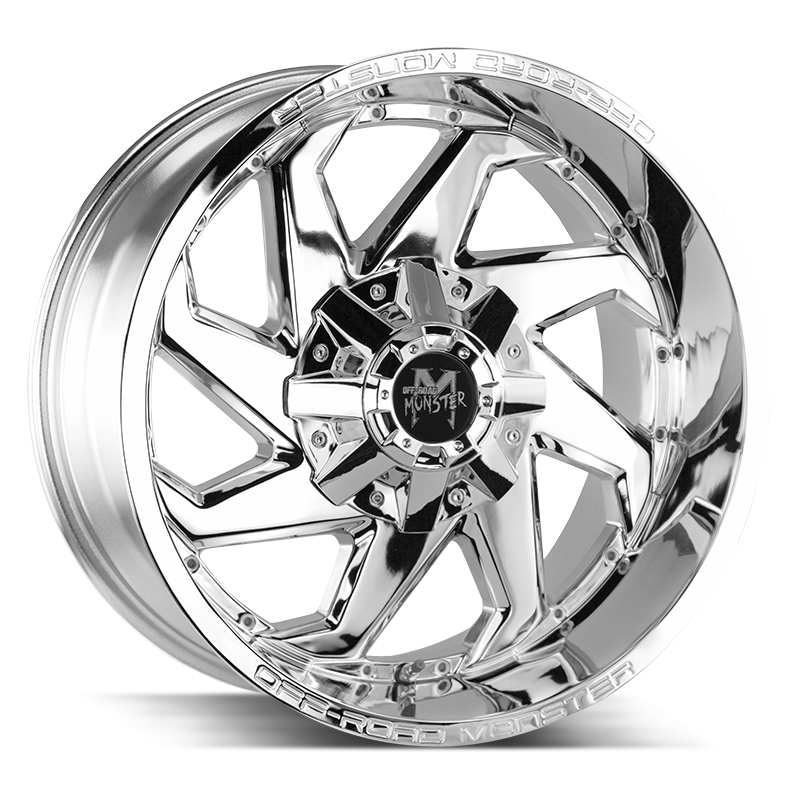 The M09 Wheel by Off Road Monster in Chrome