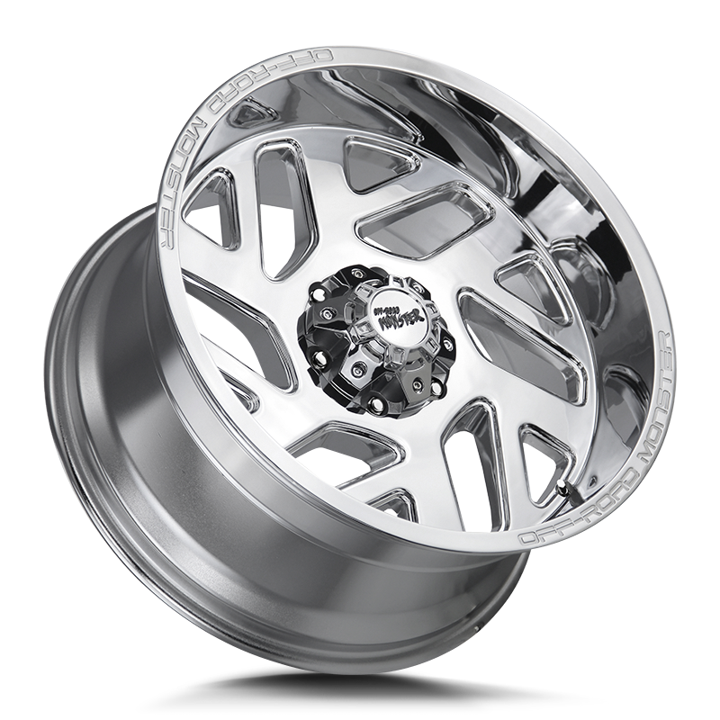 The M19 Wheel by Off Road Monster in Chrome