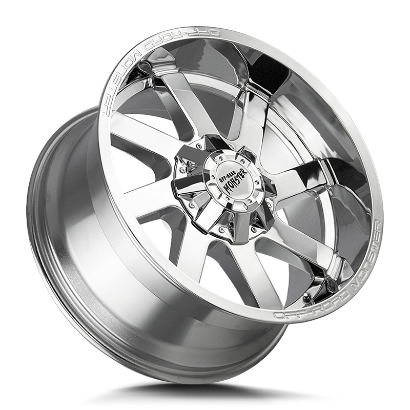 The M80 Wheel by Off Road Monster in Chrome