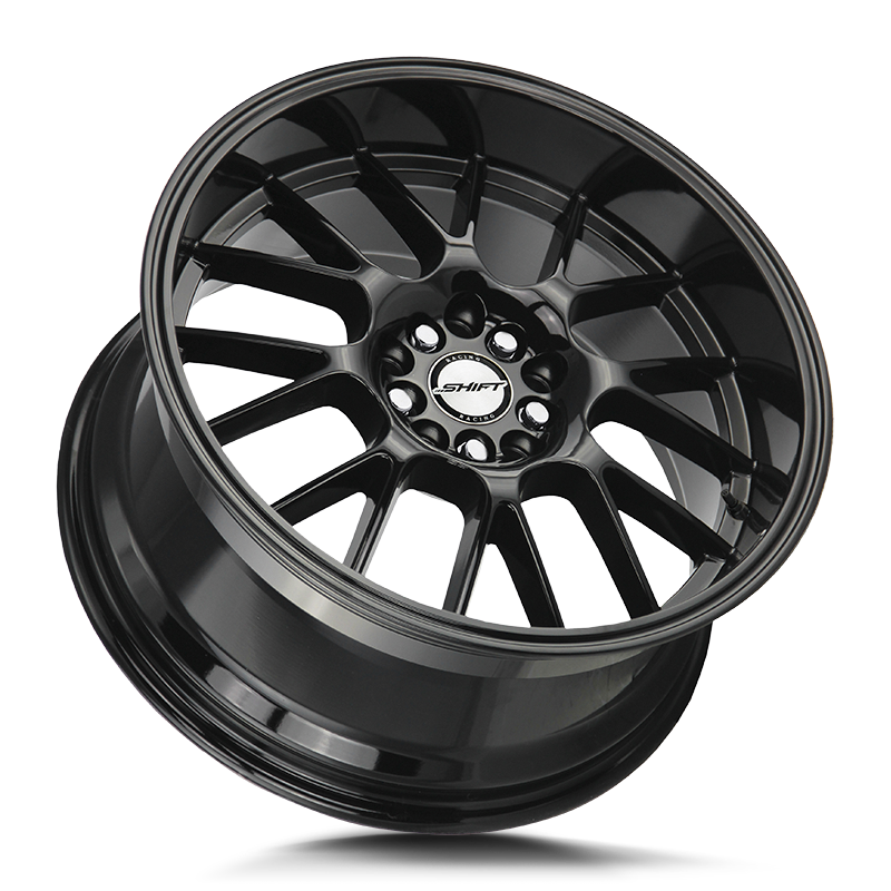 The Crank Wheel by Shift in All Gloss Black