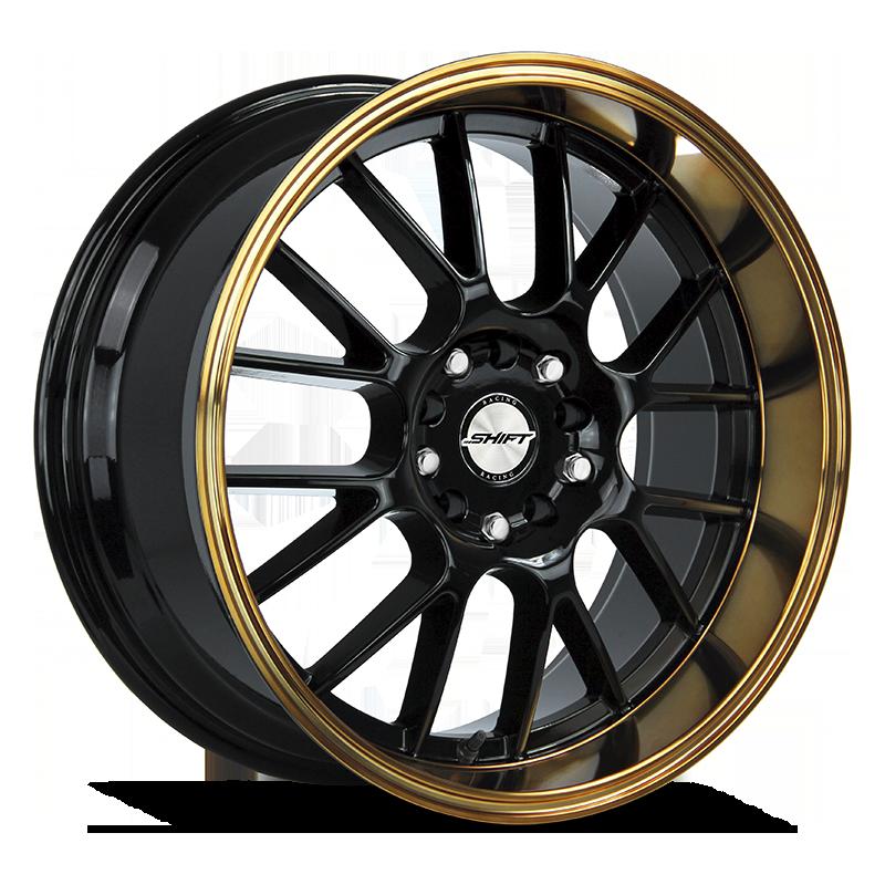 The Crank Wheel by Shift in Black Bronze Lip