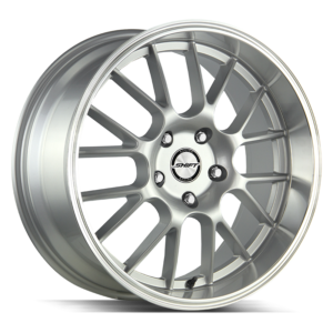 The Crank Wheel by Shift in Silver Polished Lip
