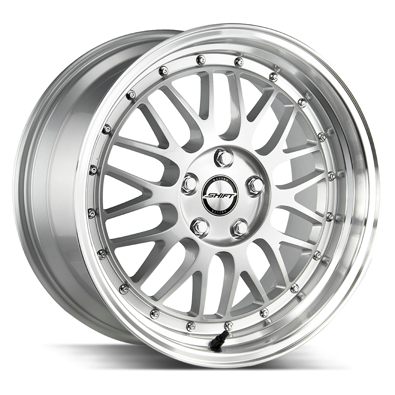 The Flywheel Wheel by Shift in Silver Polished Lip