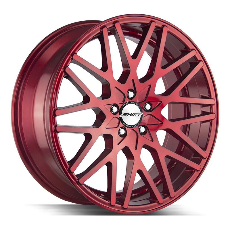 The Formula Wheel by Shift in Candy Red