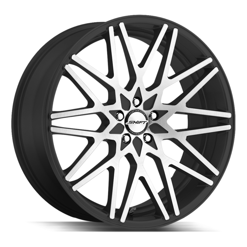 The Formula Wheel by Shift in Gloss Black Machined