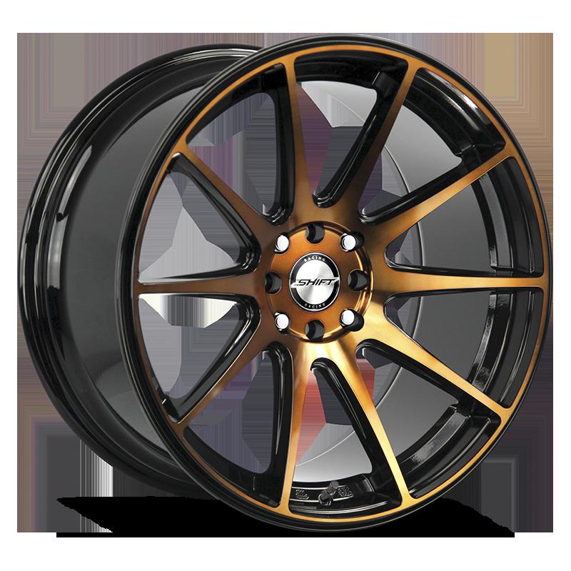 The Gear Wheel by Shift in Black Machined Bronze