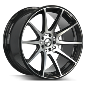 The Gear Wheel by Shift in Gloss Black Machined