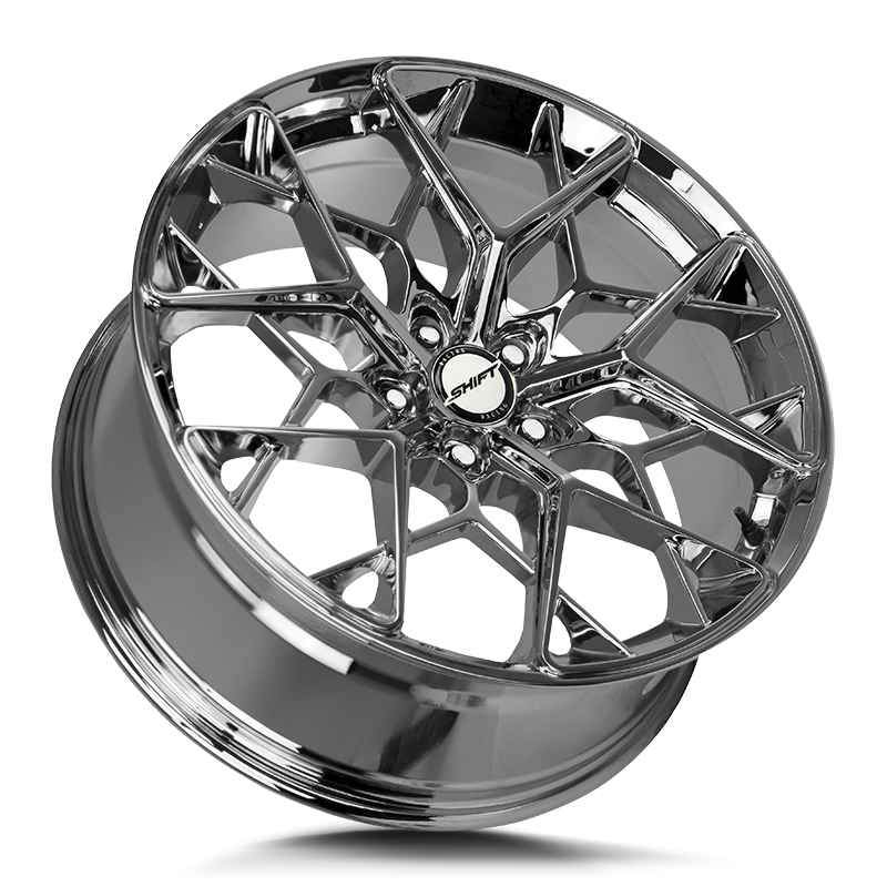 The Piston Wheel by Shift in Chrome