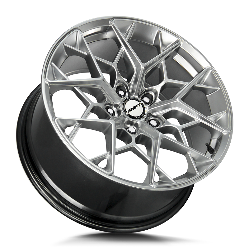 The Piston Wheel by Shift in Platinum Silver