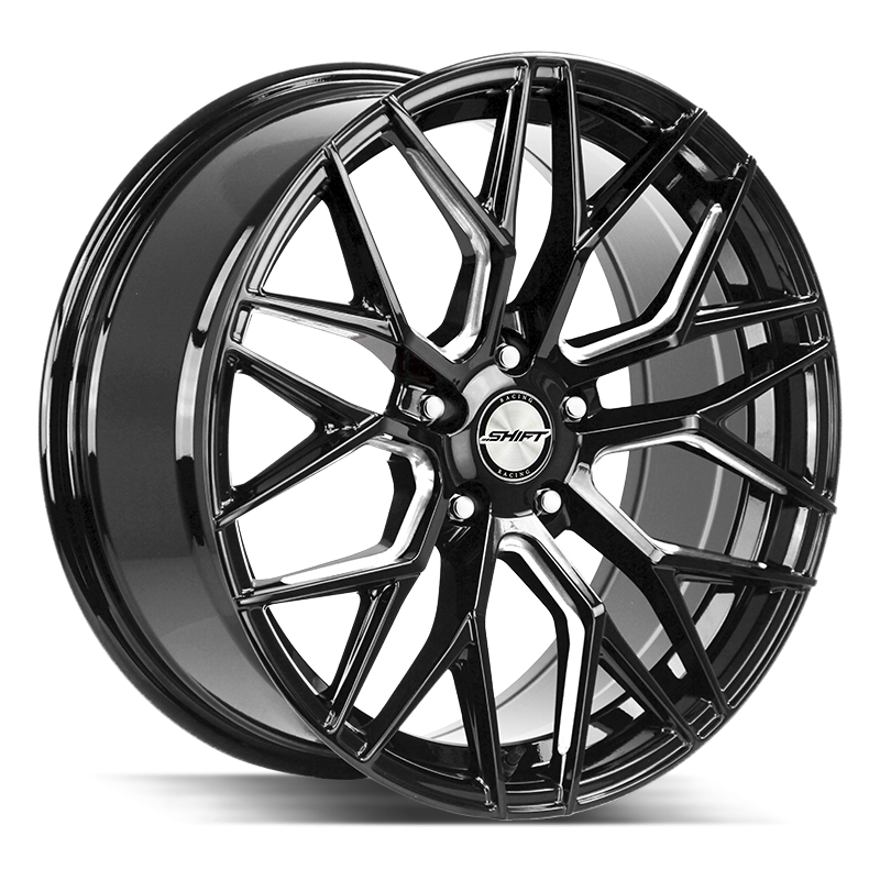 The Spring Wheel by Shift in Gloss Black Milled