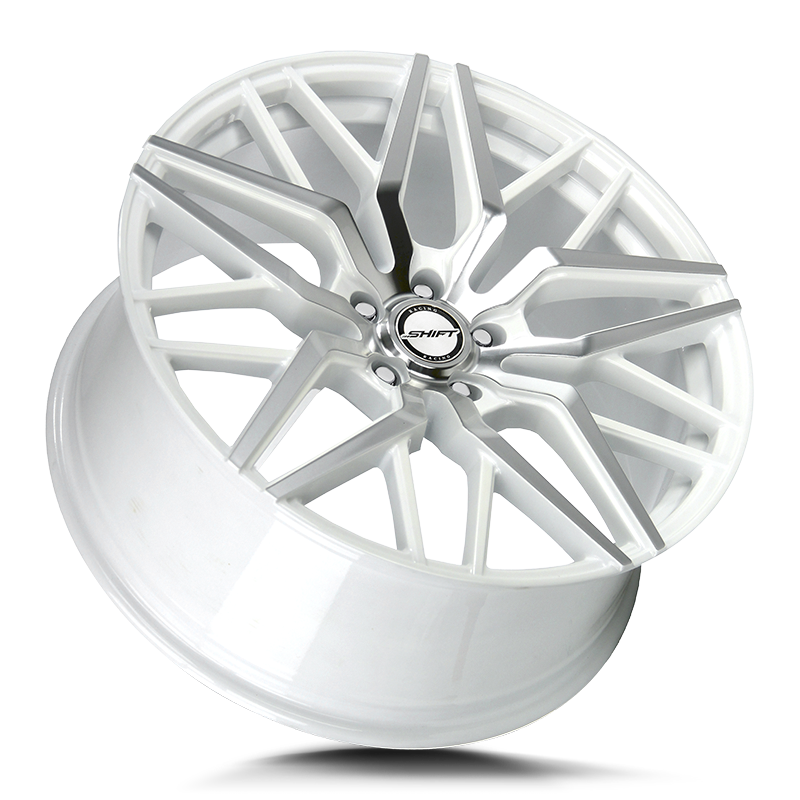 The Spring Wheel by Shift in White Machined