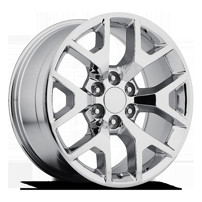 The GMC Sierra Wheel by Strada OE Replica in Chrome