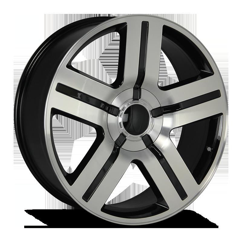 The Texas Edition Wheel by Strada OE Replica in Gloss Black Machined