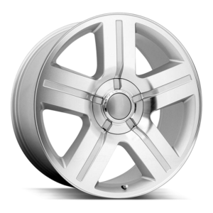 The Texas Edition Wheel by Strada OE Replica in Silver Machined