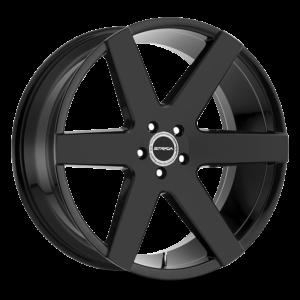 The Coda Wheel by Strada in All Gloss Black