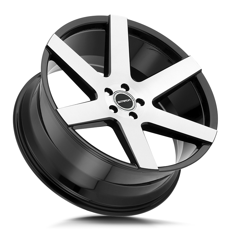The Coda Wheel by Strada in Gloss Black Machined