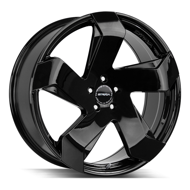 The Coltello Wheel by Strada in All Gloss Black