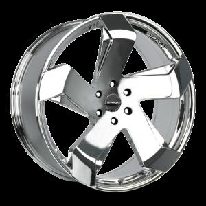 The Coltello Wheel by Strada in Chrome