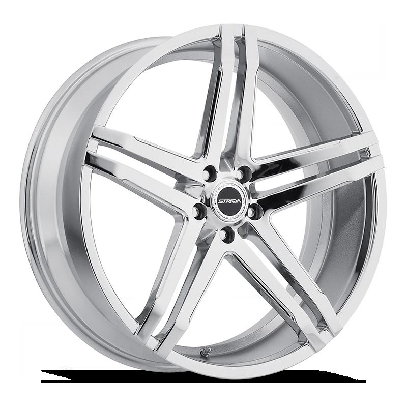 The Domani Wheel by Strada in Chrome