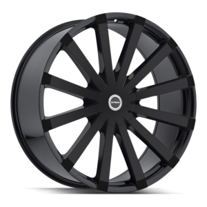The Gabbia Wheel by Strada in All Gloss Black