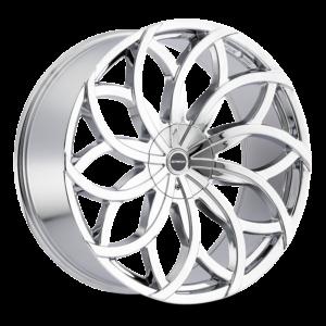 The Huracan Wheel by Strada in Chrome