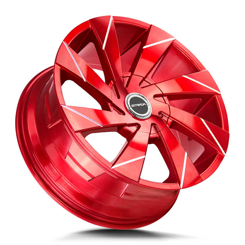 The Moto Wheel by Strada in Candy Red