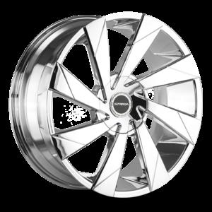 The Moto Wheel by Strada in Chrome