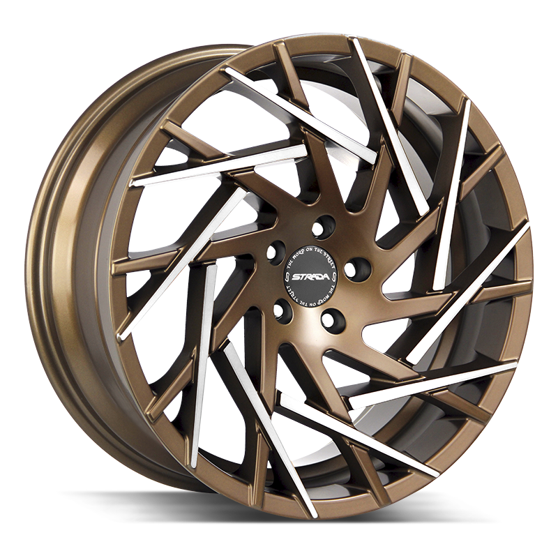 The Nido Wheel by Strada in Bronze Machined Tips