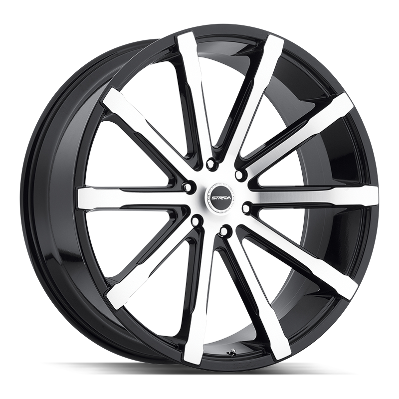 The Osso Wheel by Strada in Gloss Black Machined