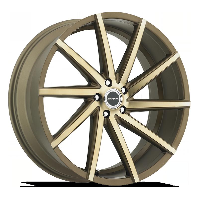 The Sega Wheel by Strada in Bronze