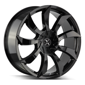 The X01 Wheel by Xcess in All Gloss Black