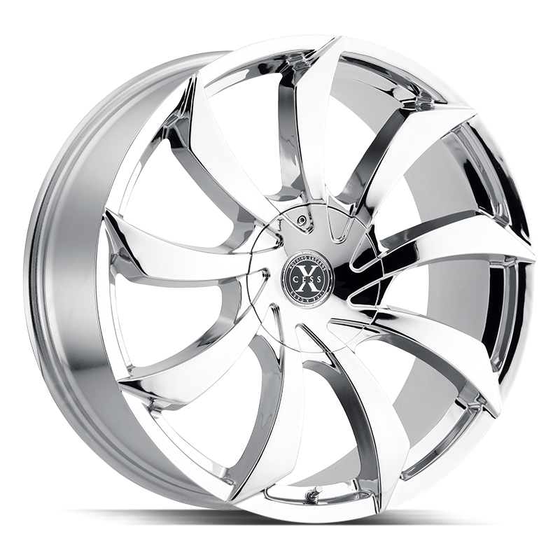 The X01 Wheel by Xcess in Chrome