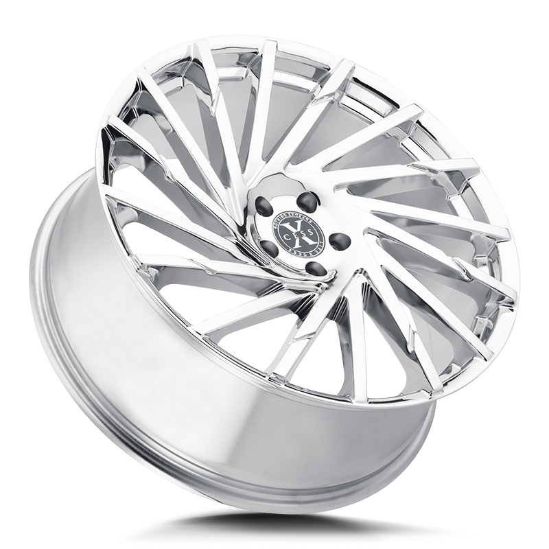 The X02 Wheel by Xcess in Chrome